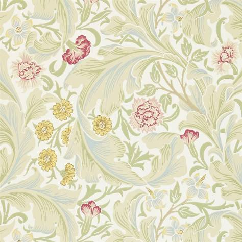 William Morris & Co Archive II Wallpapers Leicester Wallpaper - Marble/Rose - 212544