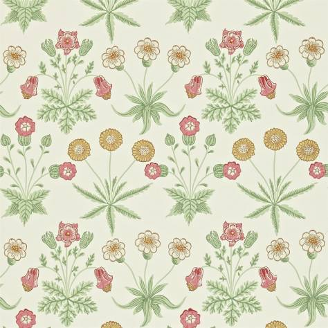 William Morris & Co Archive II Wallpapers Daisy Wallpaper - Willow/Pink - 212562