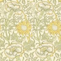 Pink & Rose Wallpaper - Cowslip/Fennel