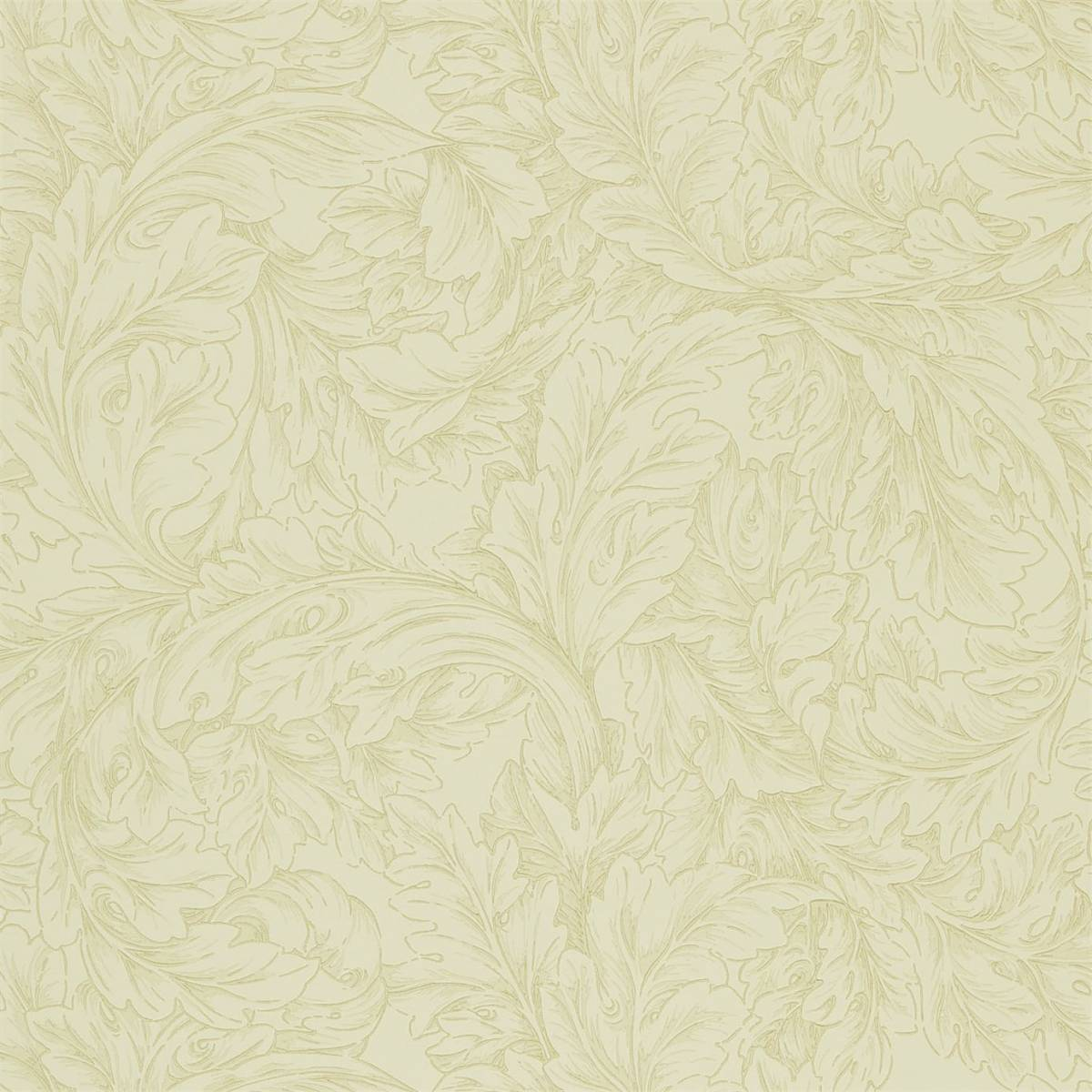 William Morris & Co Compendium II Wallpapers Acanthus Scroll Wallpaper - Parchment/Hemp - 210404. Loading zoom