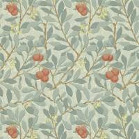 Arbutus Wallpaper - Blue/Pink
