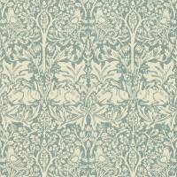 Brer Rabbit Wallpaper - Slate/Vellum