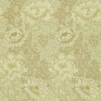 Chrysanthemum Wallpaper - Ivory/Canvas