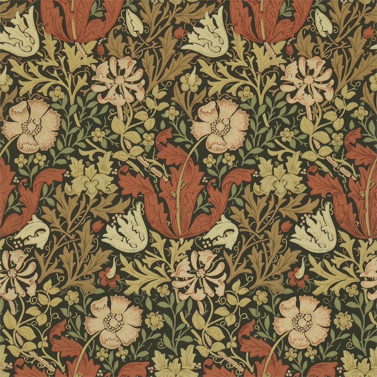 William Morris Co Compendium II Wallpapers Compton Wallpaper
