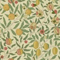 Fruit Wallpaper - Beige/Gold/Coral