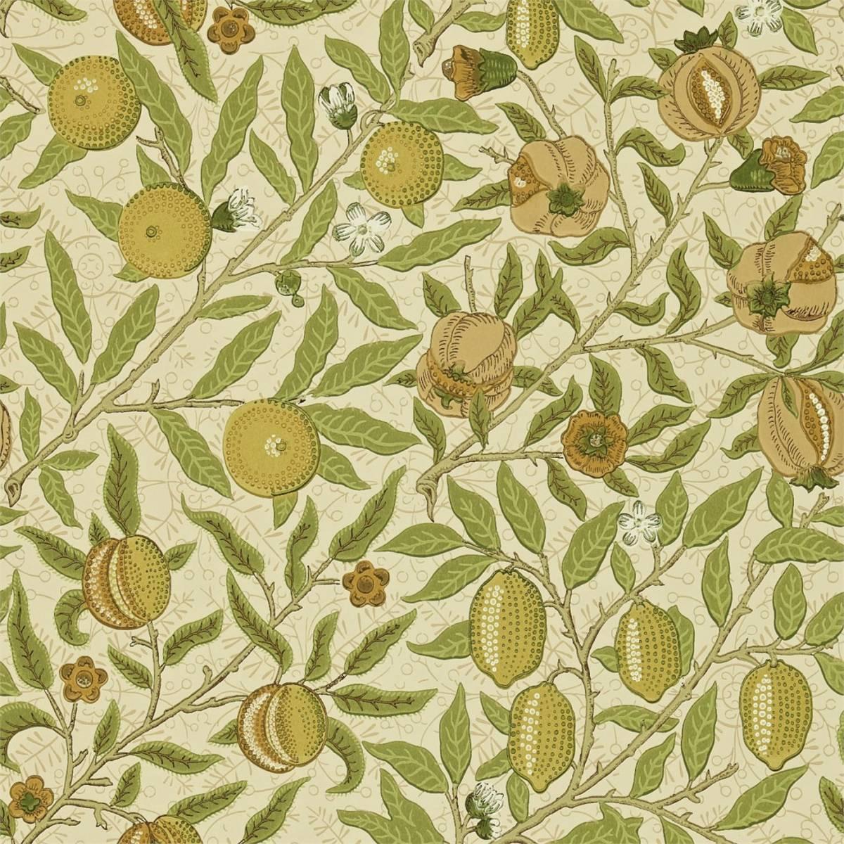 William Morris Co Compendium II Wallpapers Fruit Wallpaper