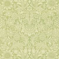 Sunflower Wallpaper - Pale Green