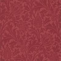 Thistle Wallpaper - Red