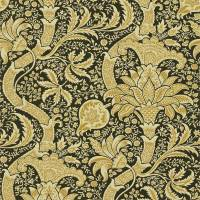 Indian Wallpaper - Gold/Black