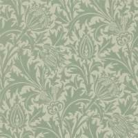 Thistle Wallpaper - Eggshell/Ivory