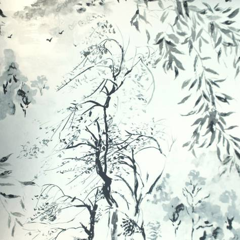 Designers Guild Shanghai Garden Wallcoverings Winter Palace Wallpaper - Silver - P651/05