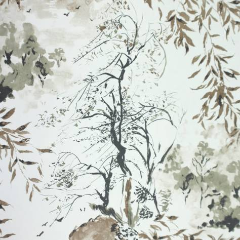 Designers Guild Shanghai Garden Wallcoverings Winter Palace Wallpaper - Ecru P561/06 - P651/06