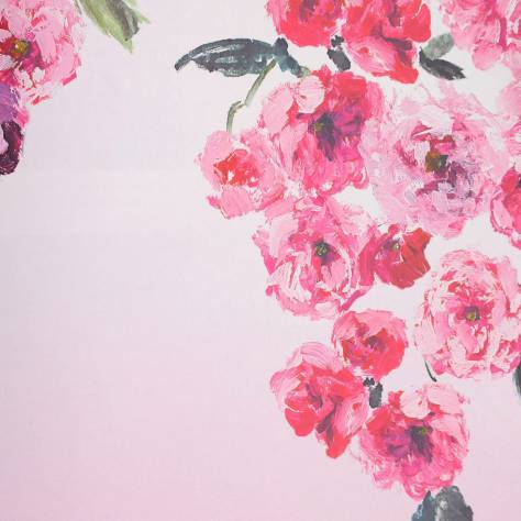 Designers Guild Shanghai Garden Wallcoverings Trailing Rose Wallpaper - Peony - P656/01