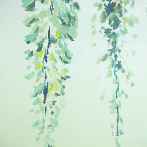 Designers Guild Shanghai Garden Wallcoverings Summer Palace Wallpaper - Grass - P657/01