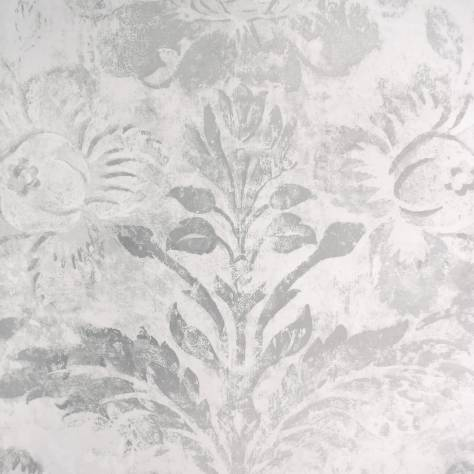 Designers Guild Caprifoglio Wallpapers Damasco Wallpaper - Silver - PDG674/05