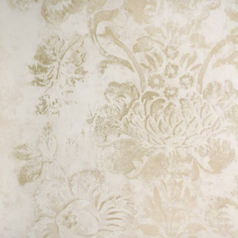 Designers Guild Caprifoglio Wallpapers Damasco Wallpaper - Gold - PDG674/07