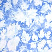 Fresco Leaf Wallpaper - Indigo