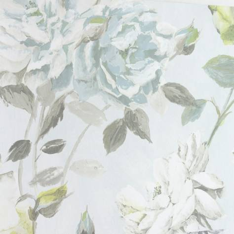 Designers Guild Jardin Des Plantes Wallpapers Couture Rose Wallpaper - Duckegg - PDG711/04