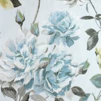Couture Rose Wallpaper - Graphite