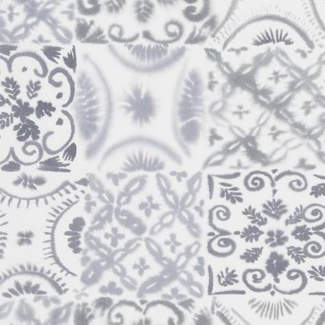 Designers Guild Majolica Wallpaper Pesaro Wallpaper - Graphite - P1021/02