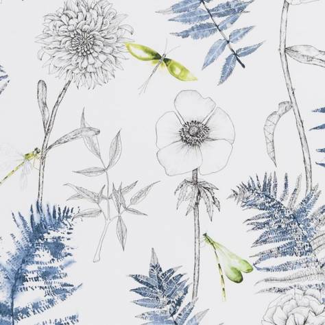 Designers Guild Majolica Wallpaper Acanthus Wallpaper - Indigo - P1022/01