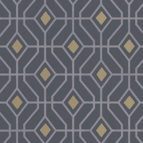 Designers Guild Majolica Wallpaper Laterza Wallpaper - Graphite - P1026/05