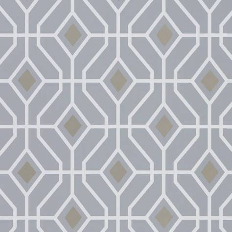 Designers Guild Majolica Wallpaper Laterza Wallpaper - Zinc - P1026/06
