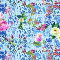 Majolica Wallpaper - Cornflower