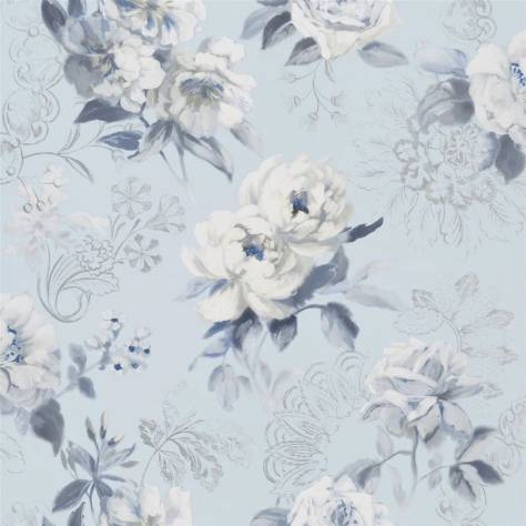 Designers Guild Mandora Wallpapers Victorine Wallpaper - Cornflower - PDG1051/03