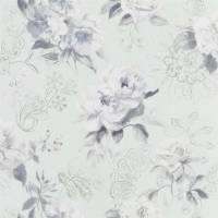 Victorine Wallpaper - Pale Aqua