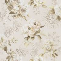 Victorine Wallpaper - Pale Birch
