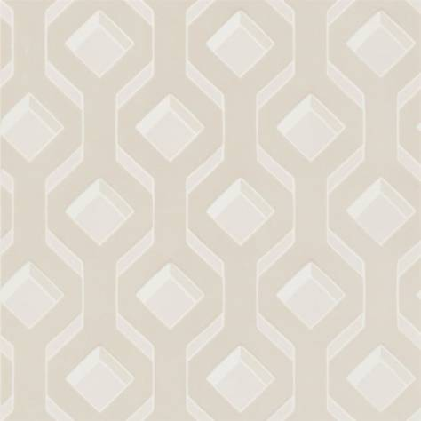 Designers Guild Mandora Wallpapers Chareau Wallpaper - Ivory - PDG1053/01