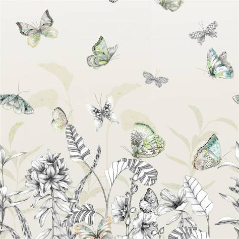 Designers Guild Mandora Wallpapers Papillons Wallpaper - Birch - PDG1058/01