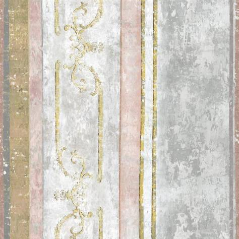 Designers Guild Foscari Fresco Wallpapers Foscari Fresco Scene 1 Wallpaper - Tuberose - PDG1097-01