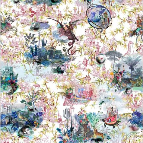 Designers Guild Scenes and Murals Wallpanels Reveries Wallpaper - Tomette - PCL1003/02