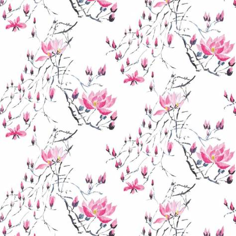 Designers Guild Scenes and Murals Wallpanels Madame Butterfly Wallpaper - Peony - PDG579/01