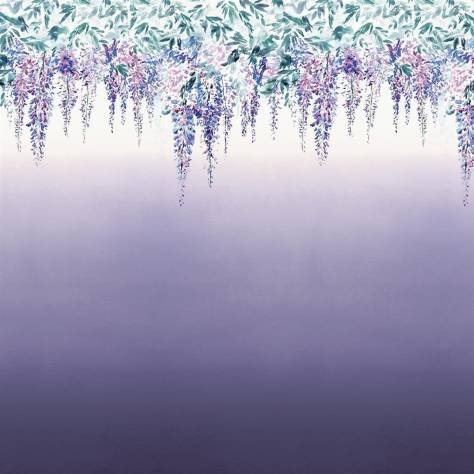 Designers Guild Scenes and Murals Wallpanels Summer Palace Wallpaper - Grape - PDG657/02