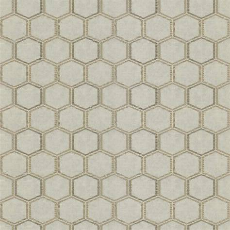 Designers Guild Chinon Textured Wallpapers Manipur Wallpaper - Oyster - PDG1121/03