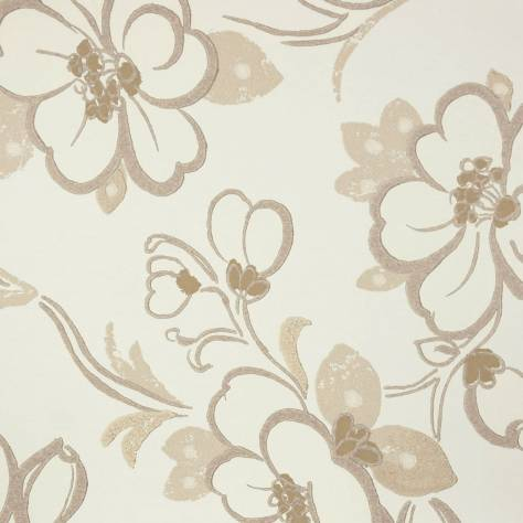 Designers Guild Amrapali Wallpapers Lotus Flower Wallpaper - Oyster - P571/01