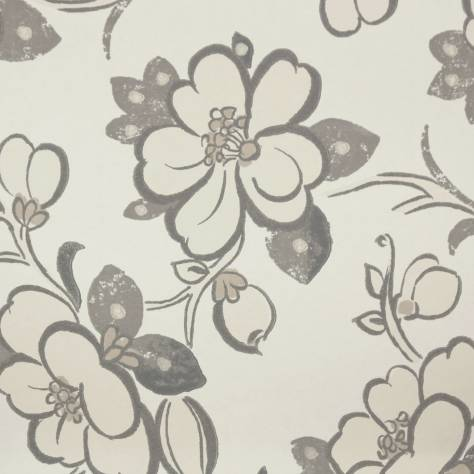 Designers Guild Amrapali Wallpapers Lotus Flower Wallpaper - Slate - P571/03