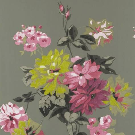 Designers Guild The Edit - Flowers Wallpaper Volume 1 Portier Wallpaper - Clover - P521/05