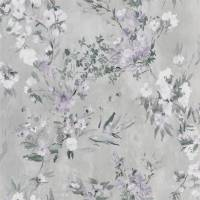 Faience Wallpaper - Silver