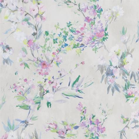Designers Guild The Edit - Flowers Wallpaper Volume 1 Faience Wallpaper - Linen - PDG1024/04