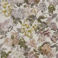 Delft Flower Wallpaper - Linen