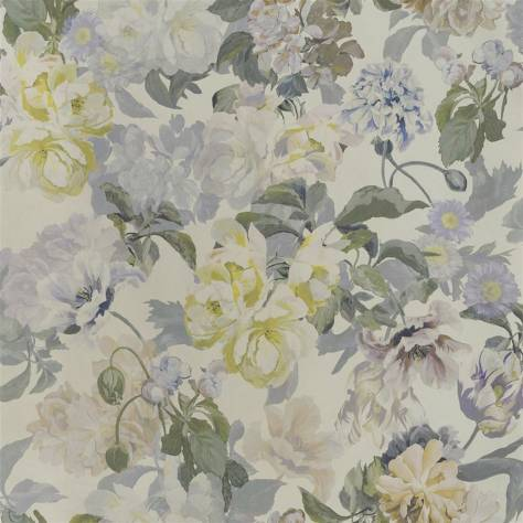 Designers Guild The Edit - Flowers Wallpaper Volume 1 Delft Flower Wallpaper - Pewter - PDG1033/05
