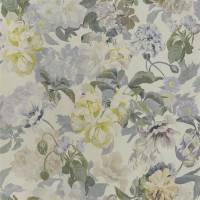 Delft Flower Wallpaper - Pewter