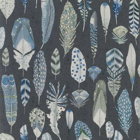 Designers Guild Tulipa Stellata Wallpapers Quill Wallpaper - Cobalt - PDG1030/01