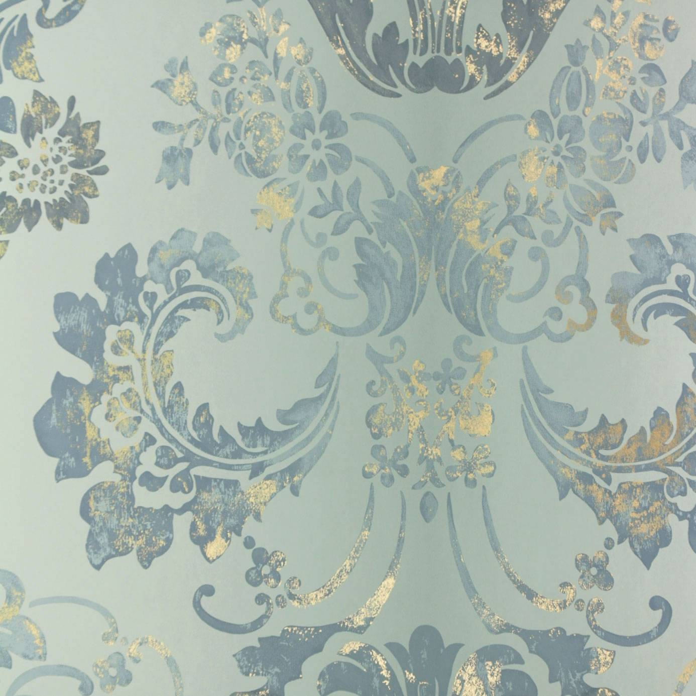Kashgar Wallpaper Zinc P619 07 Designers Guild Alexandria Wallcoverings Collection