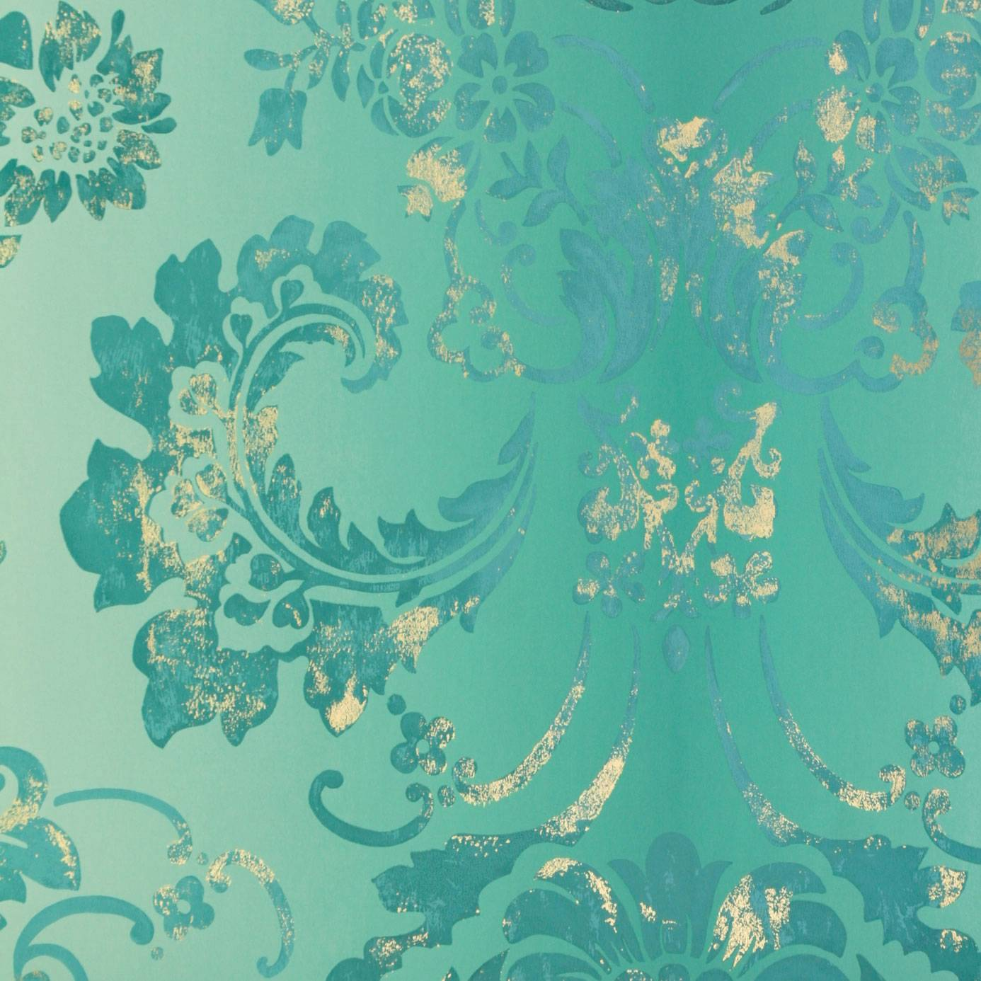 Kashgar Wallpaper Jade P619 10 Designers Guild Alexandria Wallcoverings Collection