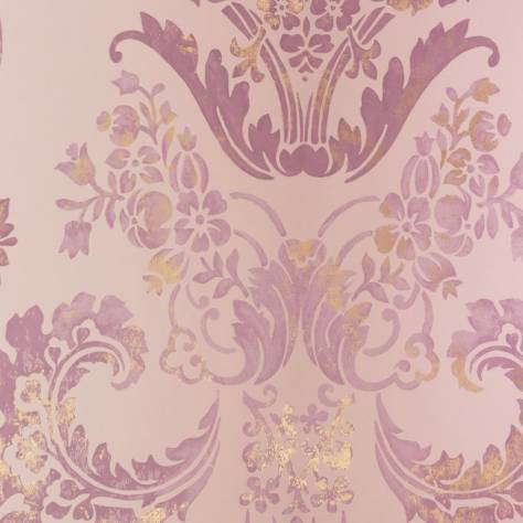 Designers Guild Alexandria Wallcoverings  Kashgar Wallpaper - Orchid - P619/15